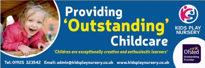 Ofsted Outstanding banner - Template 7